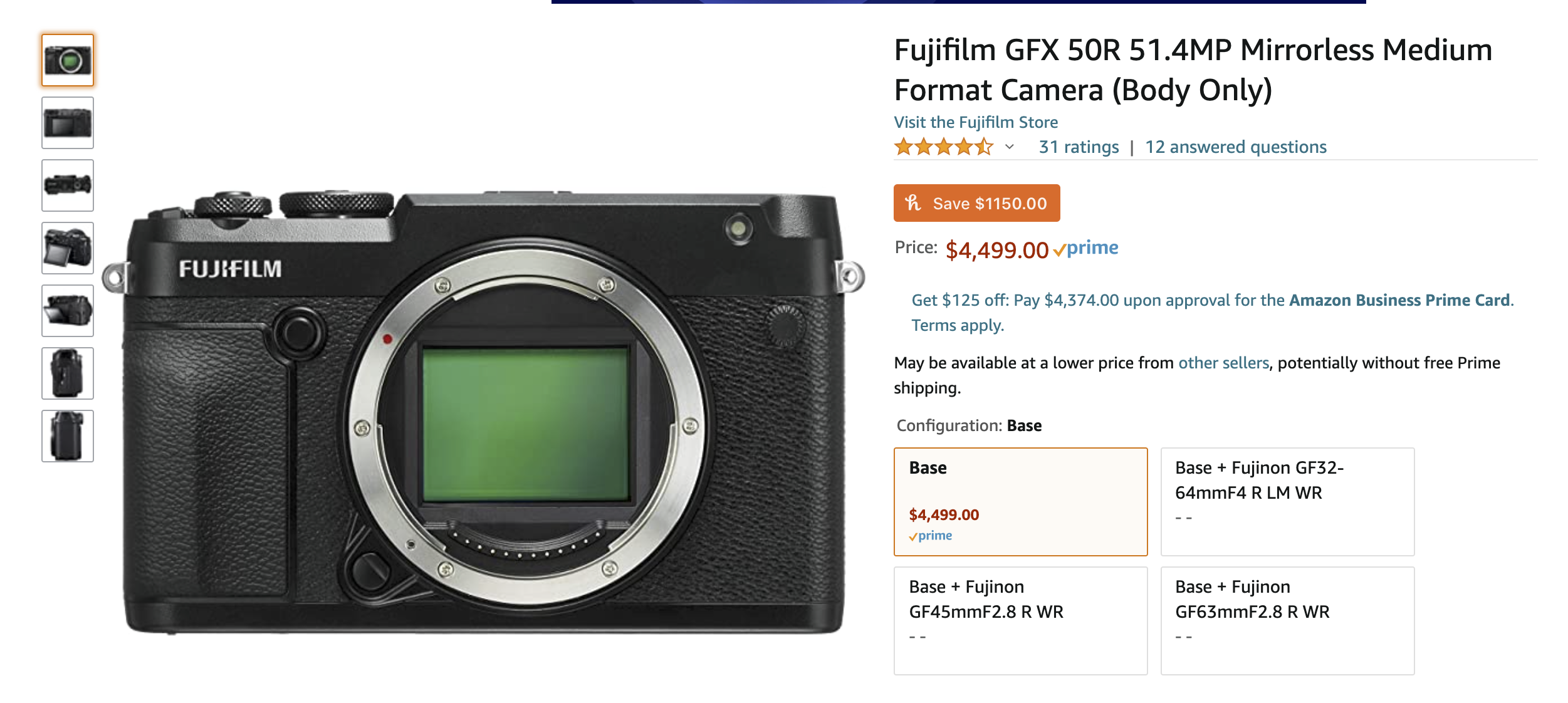 How to Get the Fujifilm GFX 50R for $1,000 Less. Hurry!