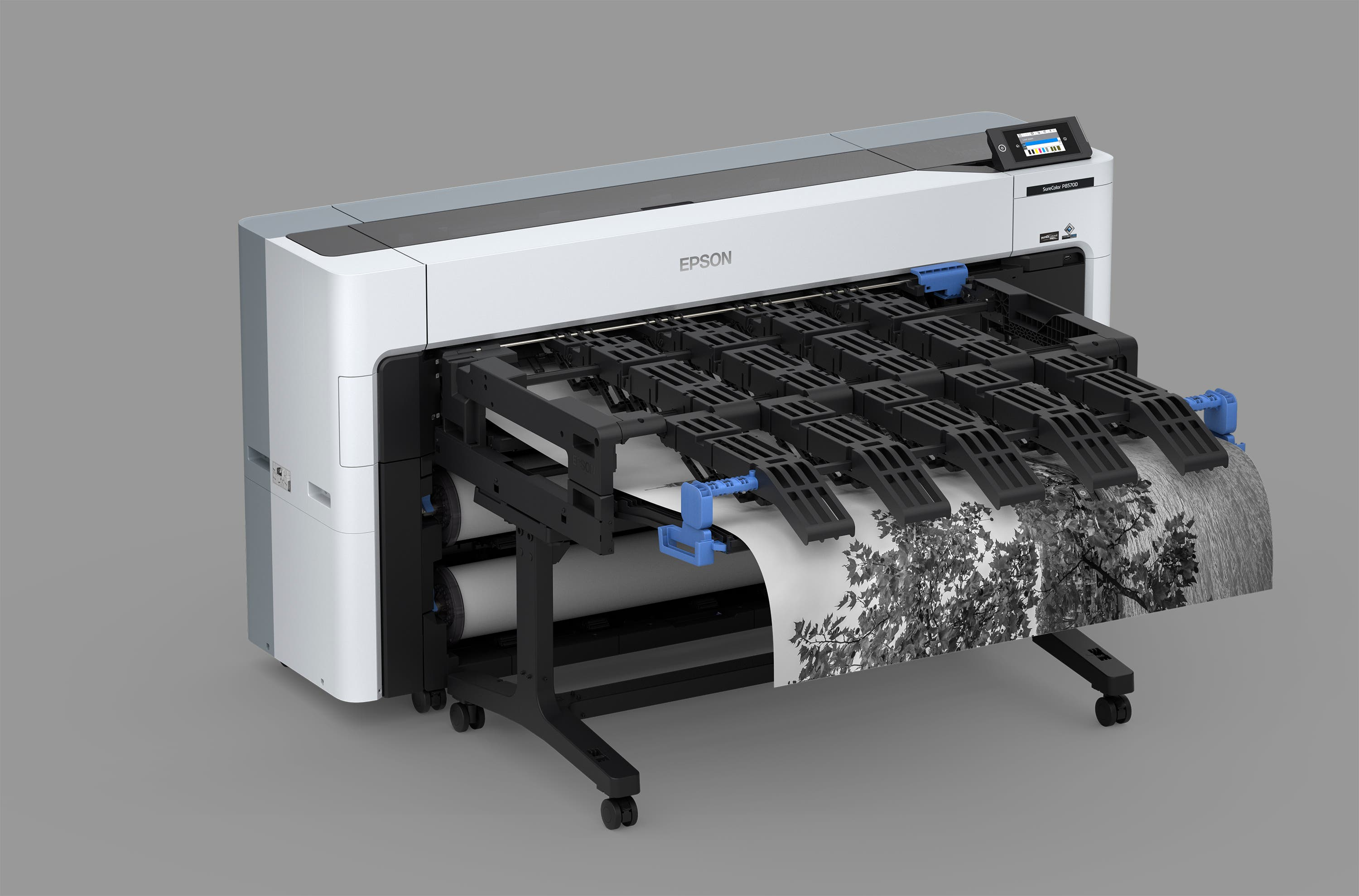 What Happens When Wide Format Shrinks? Epson P8570D Innovates