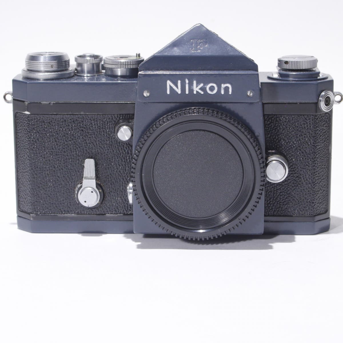 This Beautiful Nikon F in Slate Grey Will Capture Your Heart