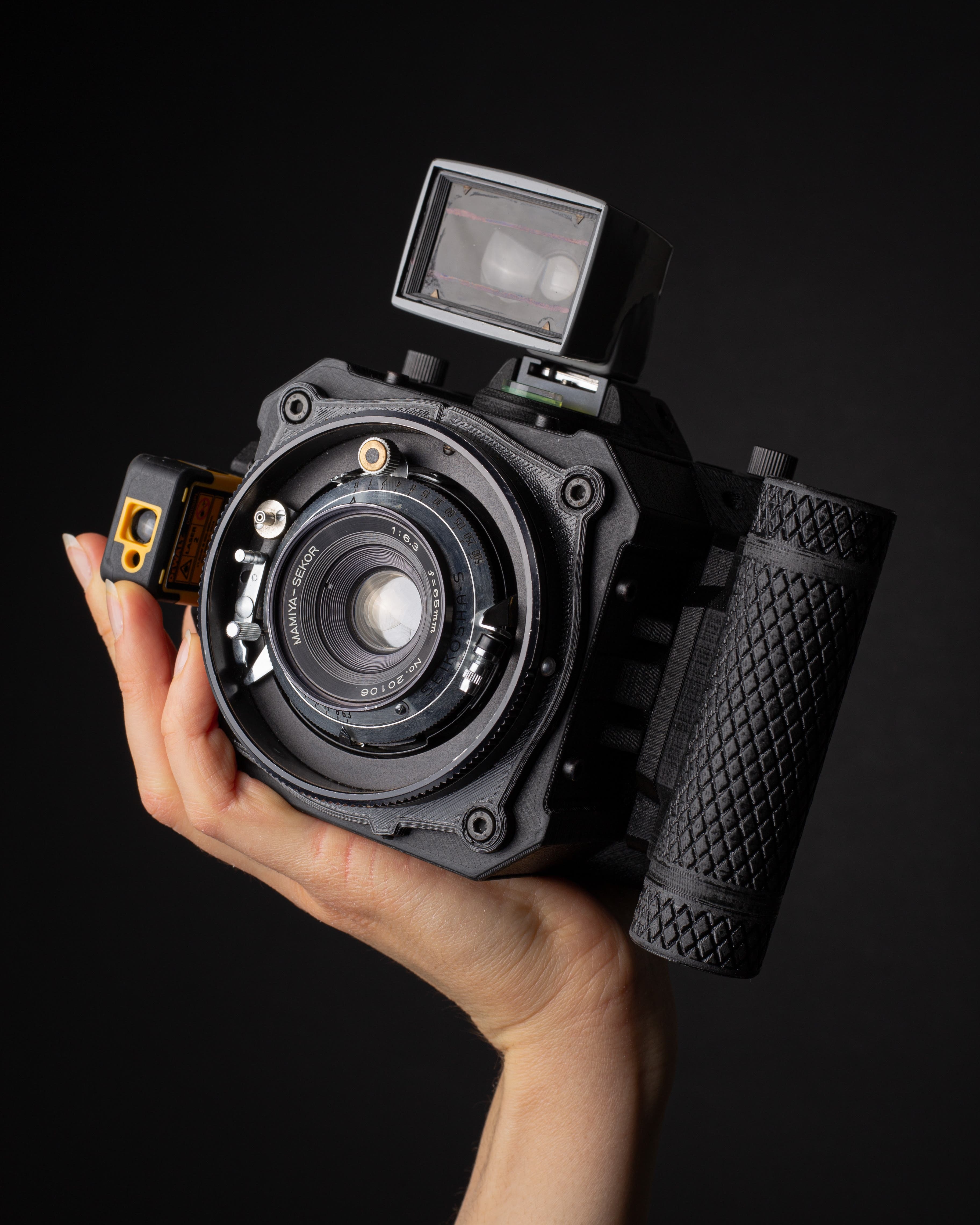 Dora Goodman Marries new Technology to old School Camera Tradition