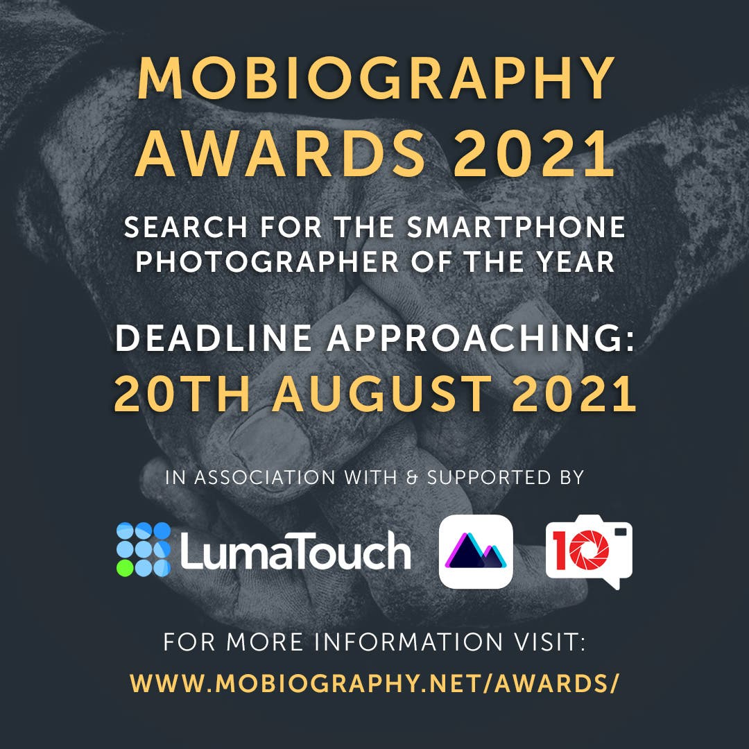 Just a Few Days Left to Enter the Mobiography Awards for 2021! Hurry!