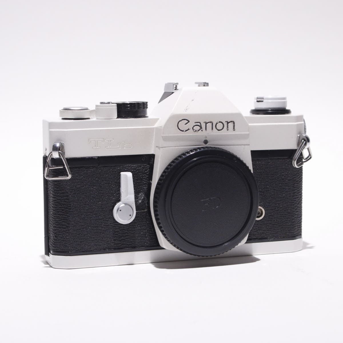This Beautiful White Canon TLB Belongs in Your Hands Shooting Film